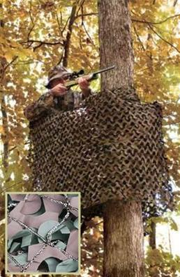 Filet Camouflage Military Netting WOODLAND 3m x 3m