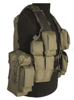 Gilet Tactical 12 Poches Kaki