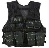 Gilet d'assaut BTP Black