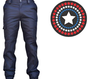 Pantalon ACTION Marine