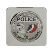 Médaille Police Nationale GK à Support Carré