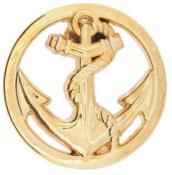 Pin's Troupes de Marine Or