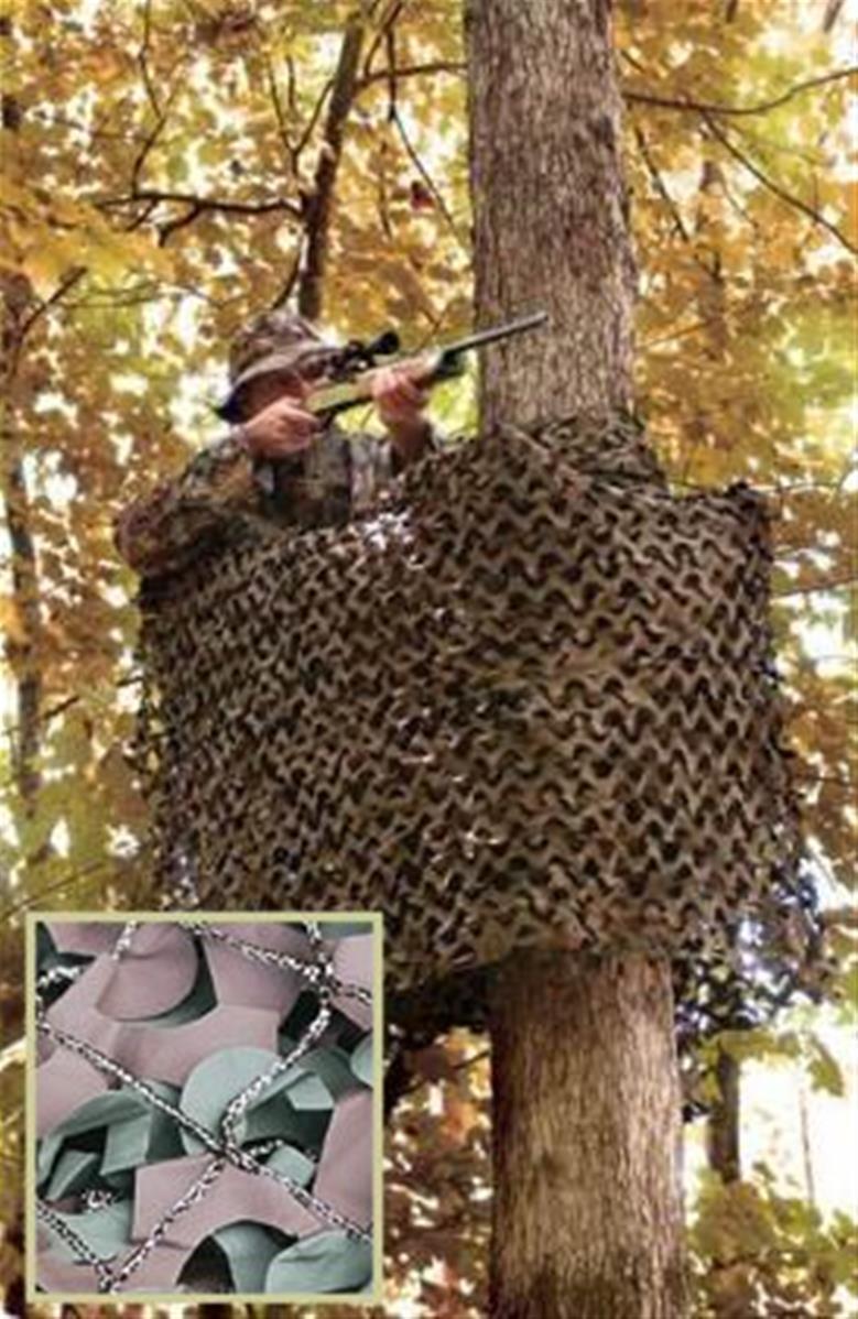 Inet-Trades 6x3 M Filet de Camouflage Camouflage en Couleur Vert Olive Original Gmbh Produit Bundeswehr Chasse Ext/érieur Arm/ée de Terre Bw Camping